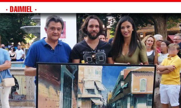 Javier Martín Aranda vuelve a ganar el Certamen de Pintura Rápida 'Tablas de Daimiel'