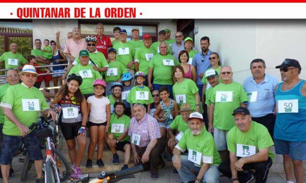 Los mayores de Quintanar disfrutan de la XVII Ruta en Bicicleta