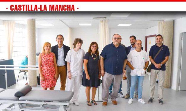 La nueva sala de fisioterapia del Centro de Salud de Villafranca de los Caballeros