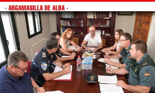 La subdelegada del Gobierno y el alcalde copresiden la Junta de Seguridad de Argamasilla de Alba
