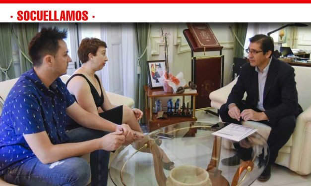 Mejorar los polideportivos e impulsar Manchavino, proyectos que Socuéllamos le ha presentado a Caballero