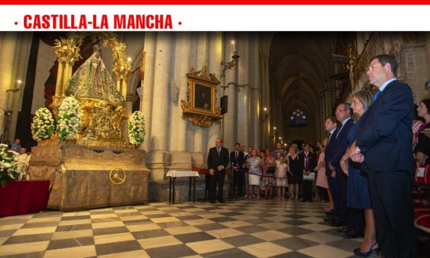 El presidente de Castilla-La Mancha se une a la celebración de la Patrona de Toledo