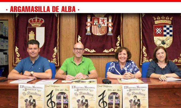 """El Festival Nacional de Zarzuela """"Villa del Alba"""" alcanza su décima edición"""