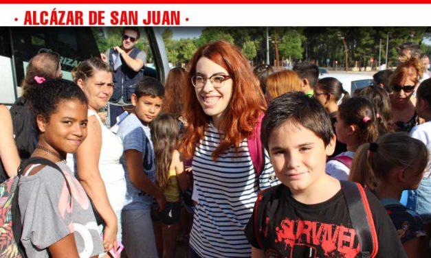 Comienza el campamento de los más pequeños en Los Palancares, Cuenca