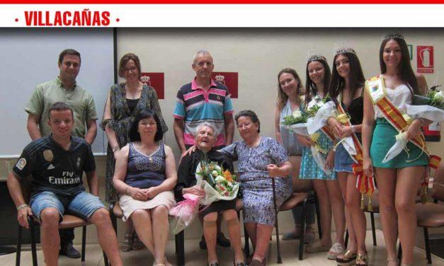 Homenaje al mayor que se ha celebrado esta mañana en  Villacañas