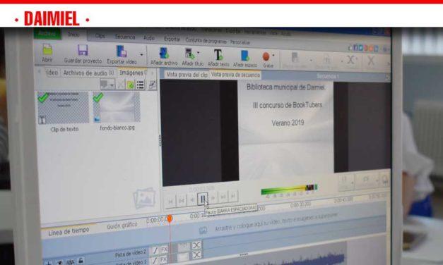 La maquetación de vídeos protagoniza el último taller de verano en el Centro de Internet