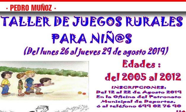 Taller de Juegos Rurales para Niñ@S