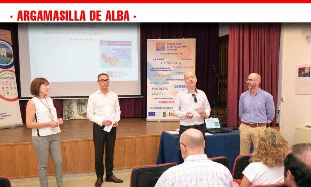 Alto Guadiana Mancha evalúa en Argamasilla de Alba la Estrategia de Desarrollo Local 2014-2020