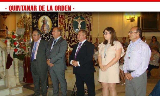 Quintanar inicia la festividad del Cristo de Gracia con la imposición de medallas a Mayordomos, Camareras y Servidores
