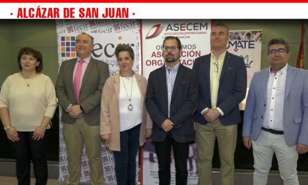 Asecem formaliza la adhesión a Fecir garantizando el mantenimiento y creación de nuevas empresas en Alcázar de San Juan