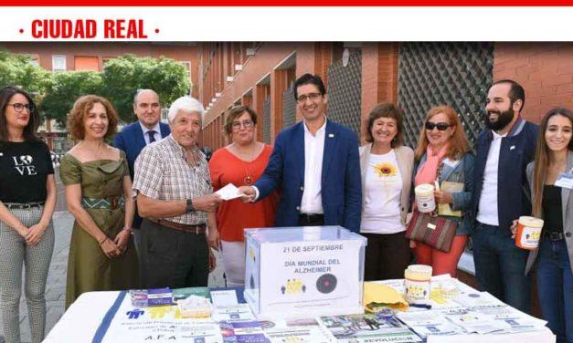 La Diputación hace efectiva su aportación a la Asociación de Familiares de Enfermos de Alzheimer de Ciudad Real