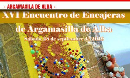 Este viernes 13, último día para inscribirse en el XVI Encuentro de Encajeras de Argamasilla de Alba