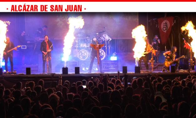 Mägo de Oz conquista al público con su magia celta en el concierto solidario de la Feria y Fiestas de Alcázar de San Juan