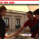 Bizcochos, galletas, helado y hasta bisutería en la X Fiesta del Pistacho Ecológico celebrada en Alcázar de San Juan