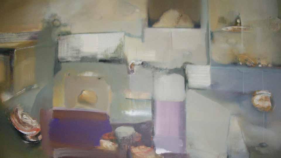 Pintura Ciudad de Manzanares 2