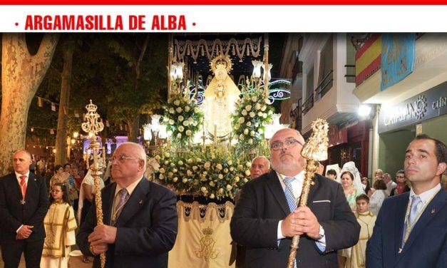 Argamasilla de Alba se volcó masivamente en los actos organizados en honor a la Virgen de Peñarroya