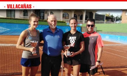 La tenista villacañera Carmen Mª López se proclama subcampeona absoluta de Castilla-La Mancha