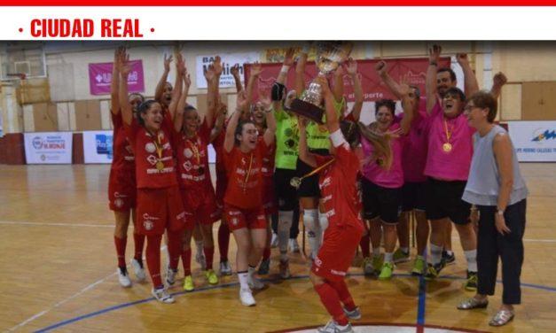 El C.D. Almagro se hace con el Trofeo Diputación de Fútbol-Sala 2ª División Femenina