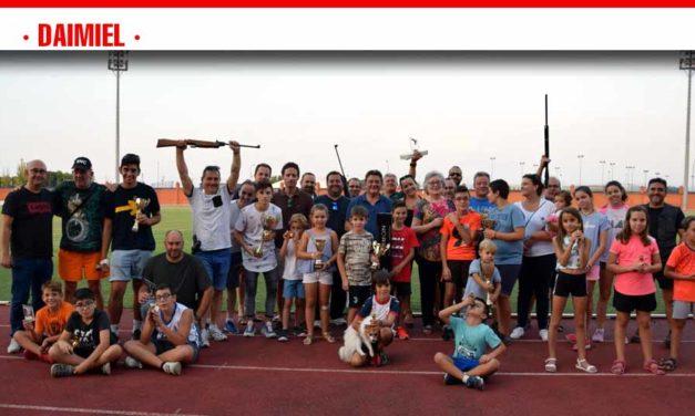 Lidia Moreno y David Abaldea, triunfadores en el campeonato de tiro