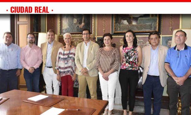 Caballero muestra su apoyo a los municipios afectados por las tormentas en Campo de Montiel