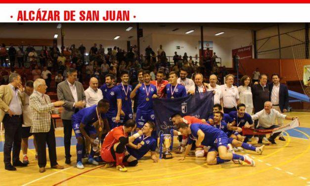 Alcázar se convirtió de nuevo en centro del deporte regional con la final del XV Torneo JCCM de Fútbol Sala