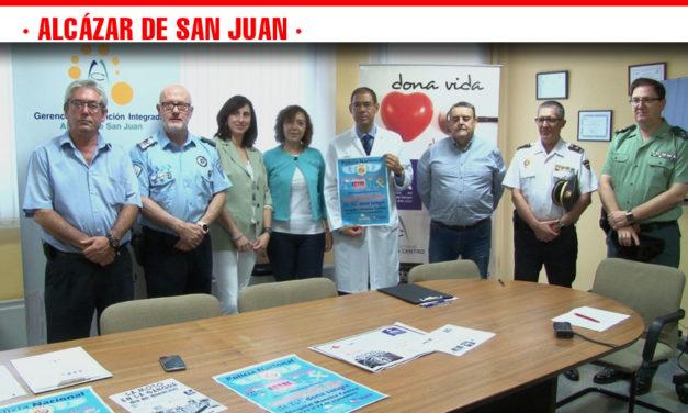 'Buscamos héroes. Sé tú. Dona Sangre' es el slogan de la campaña propuesta por la Policía Nacional  de Alcázar de San Juan