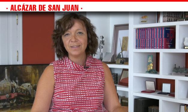 Comienzan la Feria y Fiestas 2019 en Alcázar de San Juan y Rosa Melchor invita a disfrutar de manera participativa, inclusiva y sobre todo desde el respeto a los demás