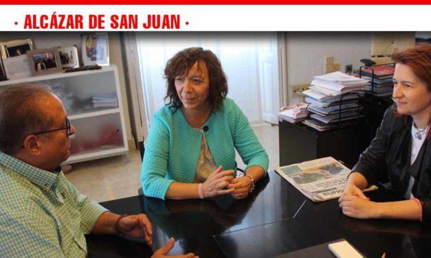 Directivos del Ministerio de Sanidad y Bienestar Social visitan Alcázar