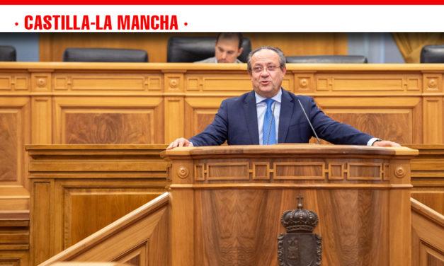 El Gobierno regional solicita a los grupos parlamentarios hablar de lo positivo de Castilla-La Mancha