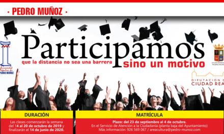 Matriculación en Talleres de Universidad Popular