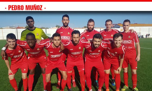 Un gol de Eusebio cuando agonizaba el partido deja al Pedro Muñoz invicto