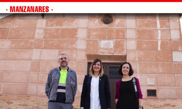 La ermita de San Blas verá totalmente rehabilitada su fachada en las próximas semanas
