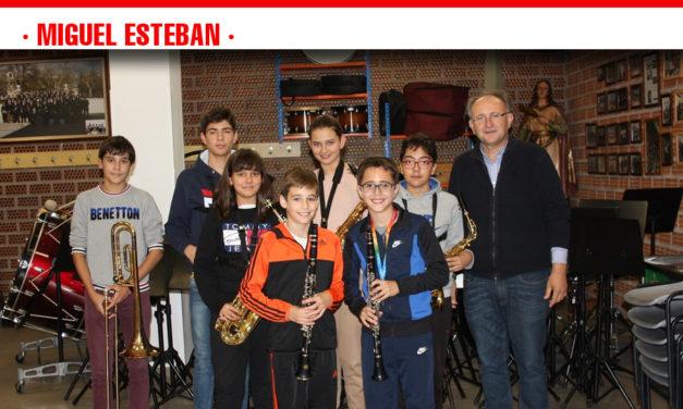 La Escuela de Música de Miguel Esteban continúa este año al 100% de su capacidad