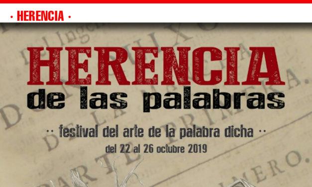 La Biblioteca Municipal presenta el I Festival Herencia de las Palabras