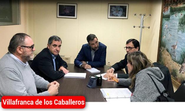 """Villafranca busca soluciones a la """"crisis de su complejo lagunar"""", ahora con el Viceconsejero de Medio Ambiente"""