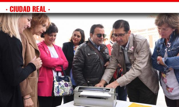 Caballero comparte con el director provincial de la ONCE la importancia de trabajar por la accesibilidad universal