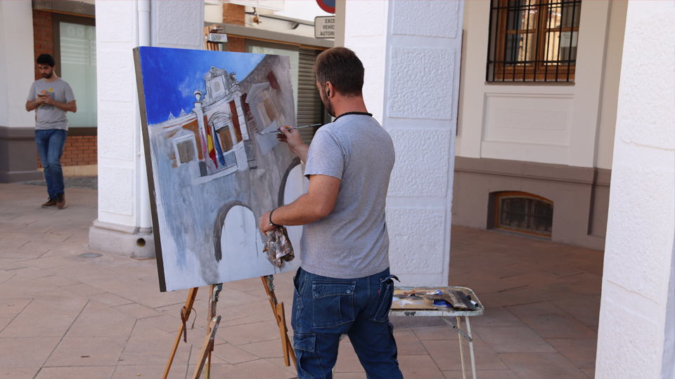 V Certamen de Pintura Rápida Manzanares 1