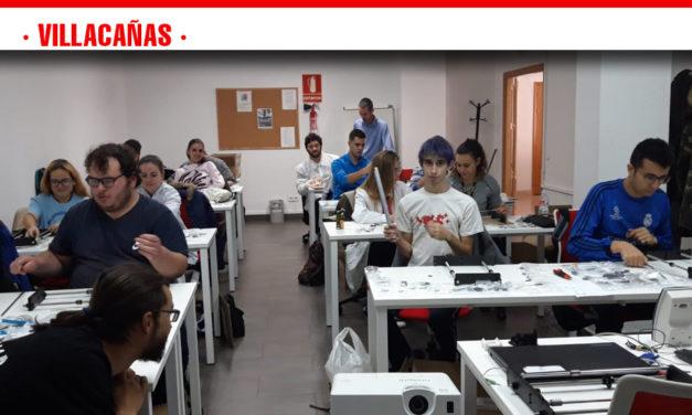En las últimas semanas se está desarrollando en Villacañas un curso de Impresión 3D