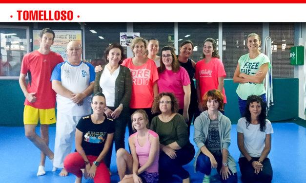 Taller de defensa personal del Centro de la Mujer y el Área de Deporte