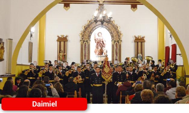 La Banda de Música y la Banda de Cornetas ofrecen conciertos para celebrar a su patrona