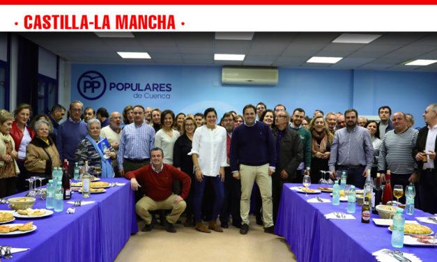 Cuenca acoge el cierre de campaña de los populares manchegos