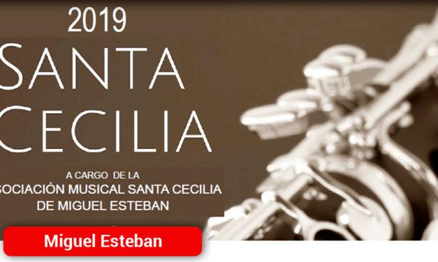 La Banda Municipal de Música de Miguel Esteban celebrará Santa Cecilia este fin de semana