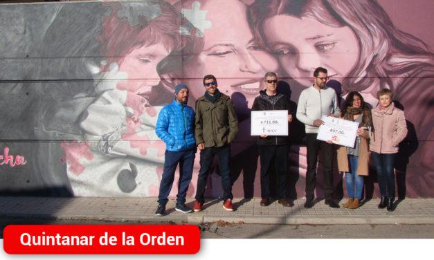 """Inaugurado el Gran Mural de """"Las Supernenas"""" que representa la lucha contra el cáncer"""