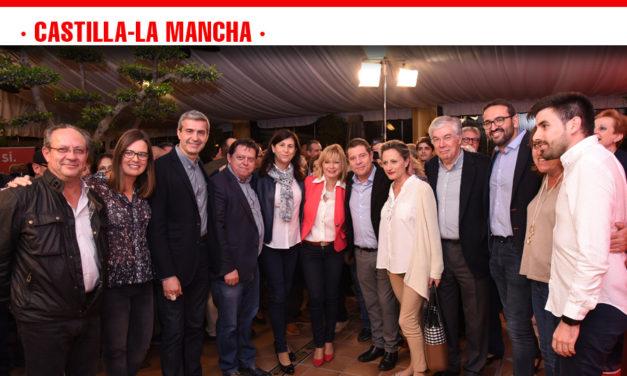 García-Page pide el voto para tener un gobierno que defienda los intereses de España y de Castilla-La Mancha