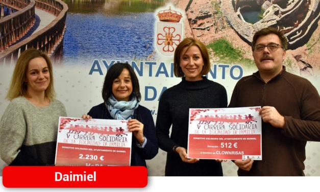 La Carrera Solidaria de la Igualdad en Familia recauda 2.741 euros