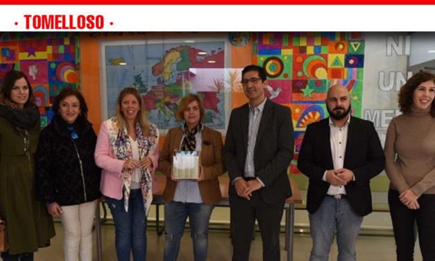 La Diputación contribuye a promover la cultura y la lectura en los colegios de Tomelloso