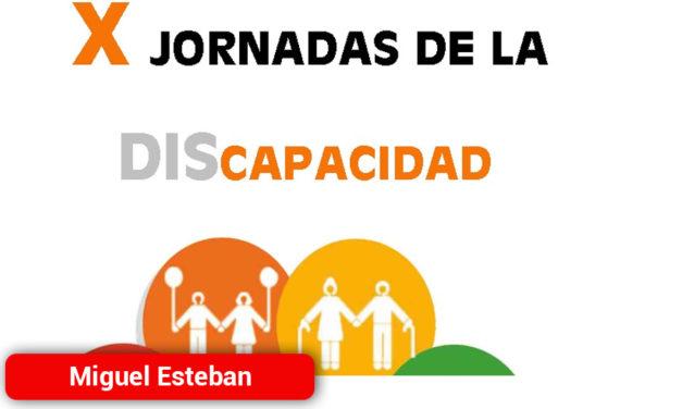 Miguel Esteban celebrará las X Jornadas de la Discapacidad