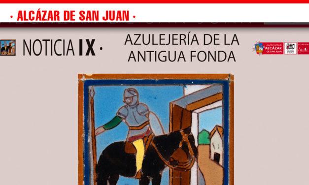 Con la azulejería de la Fonda de la Estación y la figura del polifacético artista Isidro Parra, concluyen las noticias Qervantinas de este año