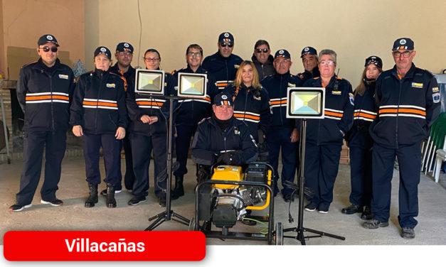 Nuevo equipo electrógeno de Protección Civil