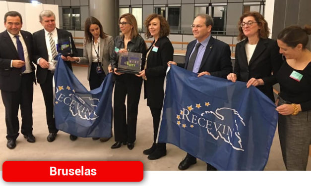 RECEVIN presenta oficialmente en el Parlamento Europeo la Ciudad Europea del Vino 2020
